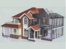 钢结构别墅效果展示
