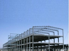 衡水钢结构厂房展示