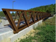 钢桔构过街天桥_钢结构桥梁有哪些优点和缺点?