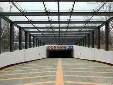 衡水钢结构车库出入口