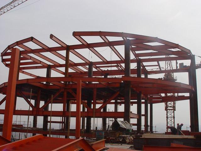 钢结构框架_钢结构厂房框架有哪些种类