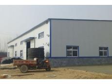 衡水四通工程橡塑有限公司钢结构车间42m×26m×6m案例