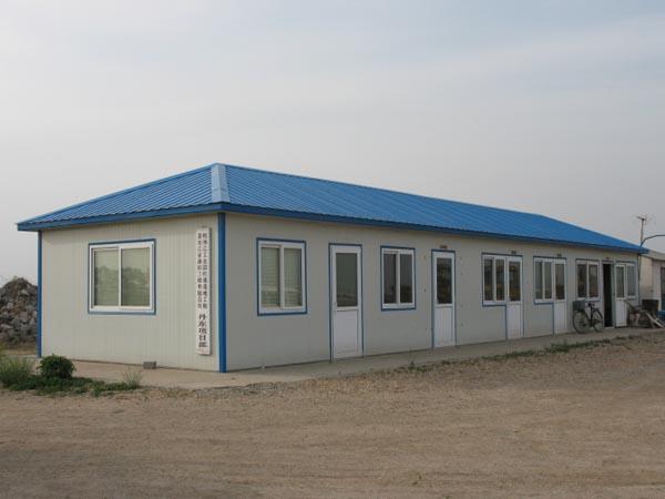 衡水活动房:活动房主体骨架、外墙体、屋面用材介绍